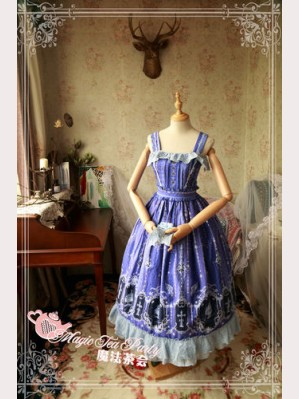 Magic Tea Party Cross and censer Lolita Dress JSK (Long version)
