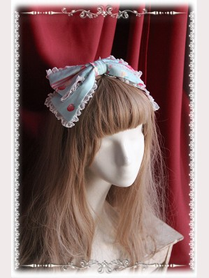 "Infanta ""Strawberry Little Chef"" Lolita Headbow KC"