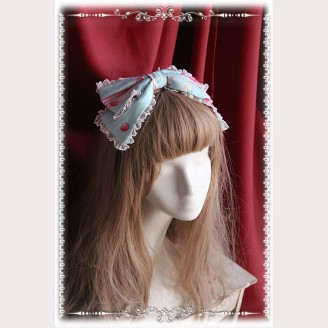 "Infanta ""Strawberry Little Chef"" Lolita Headbow KC"