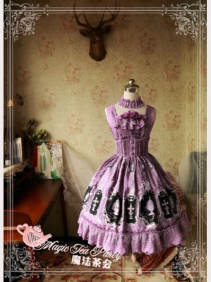 Magic Tea Party Cross and censer Lolita Dress JSK