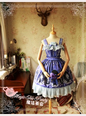 Magic Tea Party Cross and censer Lolita Dress JSK (Short version)