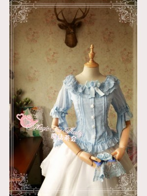 Magic tea party Cross and Censer Lolita Blouse