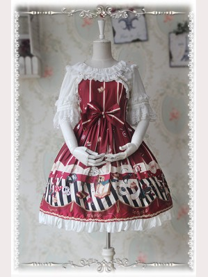 Infanta Halloween Night mini lolita dress JSK