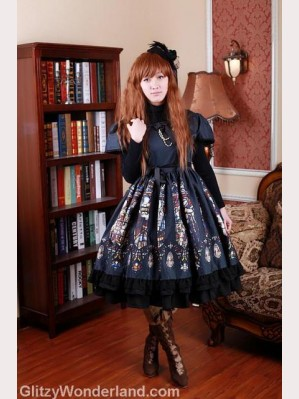 Souffle Song Catherdral lolita dress OP