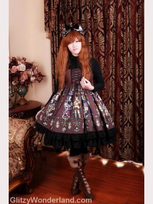 Souffle Song Catherdral lolita dress high-rise JSK