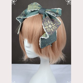 "Souffle Song ""Arabian Nights"" Lolita Headbow KC"