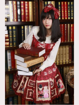 "Diamond Honey ""Royal Bear"" lolita dress JSK"
