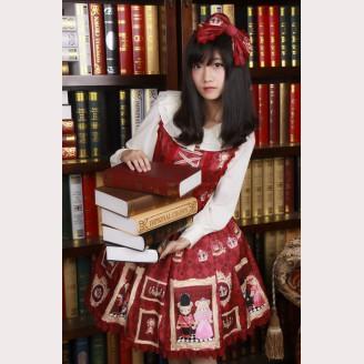 "Diamond Honey ""Royal Bear"" lolita dress JSK"