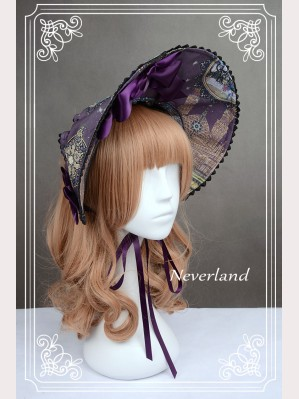"Souffle Song ""Arabian Nights"" Lolita bonnet"
