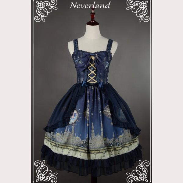 929cd4af9b Souffle Song Arabian Nights Lolita dress JSK 2