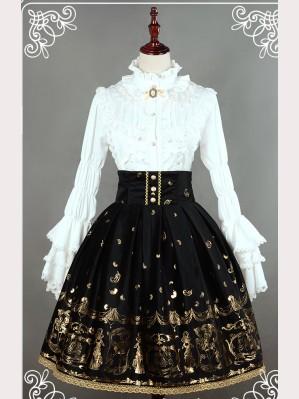 "Souffle Song ""Golden Swan Lake"" lolita skirt SK"
