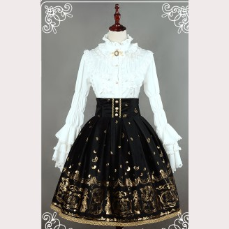 "Souffle Song ""Golden Swan Lake"" lolita skirt SK"