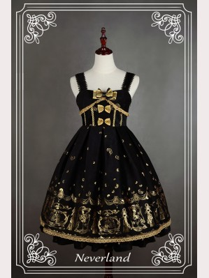 "Souffle Song ""Golden Swan Lake"" Lolita dress JSK"