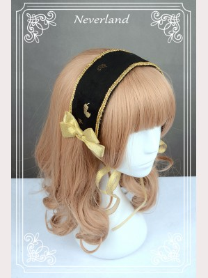 Souffle Song Golden Swan Lake headband
