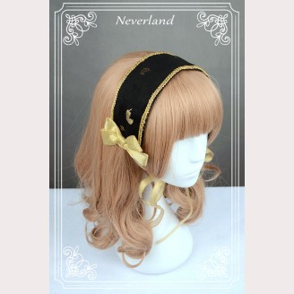 Souffle Song Golden Swan Lake Classic Lolita Headband KC