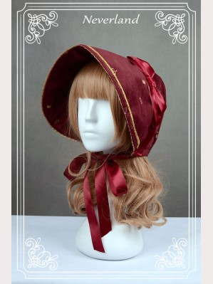 "Souffle Song ""Golden Swan Lake"" bonnet"