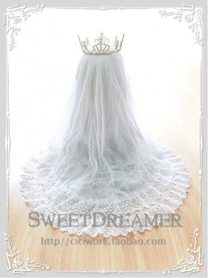 White lolita headdress