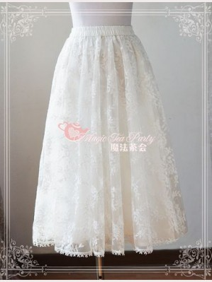 Magic tea party long petticoat