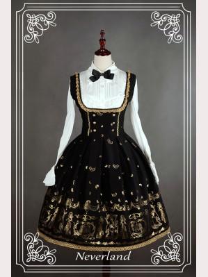 "Souffle Song ""Golden Swan Lake"" Lolita dress JSK 2"