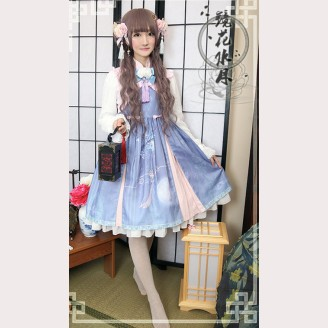 Chess Story Camellia Qi Lolita Dress JSK & Bolero outfit