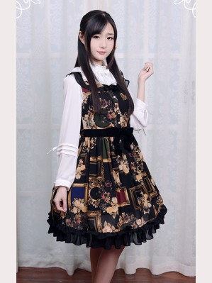 "Souffle Song ""Picture Frames"" Lolita dress JSK"