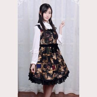 "Souffle Song ""Picture Frames"" Lolita dress JSK"