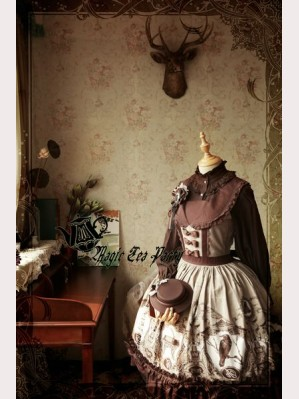 Magic Tea Party Raven And Writing-Desk Lolita dress JSK