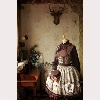 Magic Tea Party Raven And Writing-Desk Lolita dress JSK