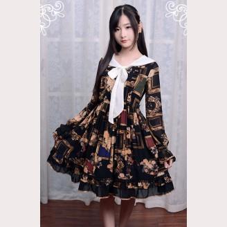 """Souffle Song """"Picture Frames"""" Lolita dress OP"""