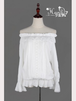 Off shoulder lolita blouse (BS 13)