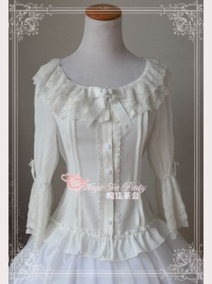 "Magic tea party ""Music note song"" blouse"