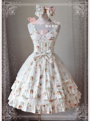 "Magic tea party ""Summer flower"" Lolita dress JSK"