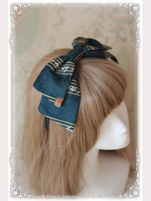 "Infanta ""Symphony"" Lolita headbow KC"