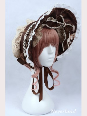 "Souffle Song ""The Time Guardian"" Lolita bonnet"