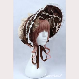 "Souffle Song ""The Time Guardian"" Lolita bonnet"