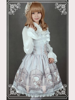 "Souffle Song ""The Time Guardian"" Lolita dress JSK 2"