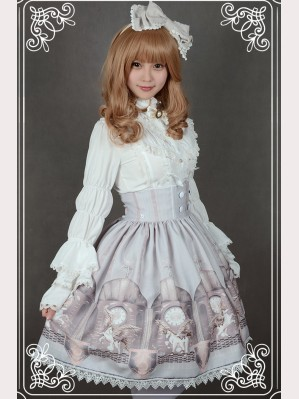 "Souffle Song ""The Time Guardian"" Lolita Skirt SK"
