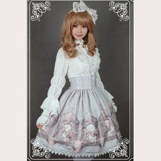 """Souffle Song """"The Time Guardian"""" Lolita Skirt SK"""