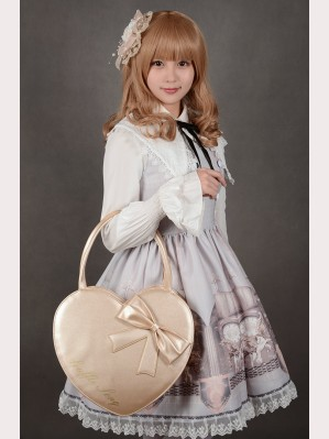 Souffle Song Heart Shape Lolita Purse