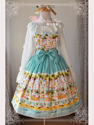 "Magic Tea Party ""Seaside Town"" Lolita Dress JSK"