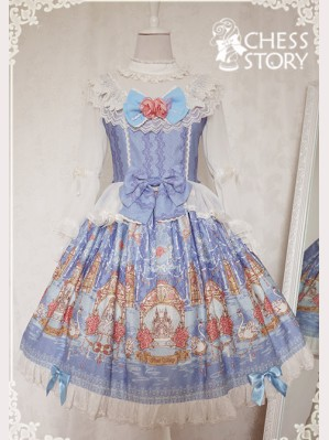"Chess Story ""Double Swan"" Lolita Dress OP"