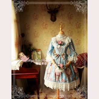 Magic Tea Party Spring of Europa Lolita Dress OP