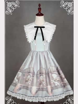 "Souffle Song ""The Time Guardian"" Lolita dress JSK"