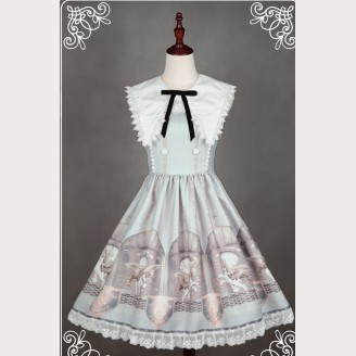 "Souffle Song ""The Time Guardian"" Lolita dress JSK"