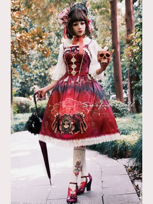 "Surface Spell ""Freak show"" Lolita dress JSK"