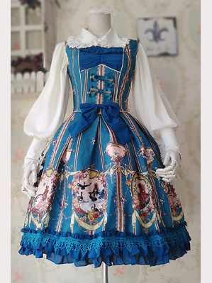 Infanta Swan Lake Love lolita dress JSK