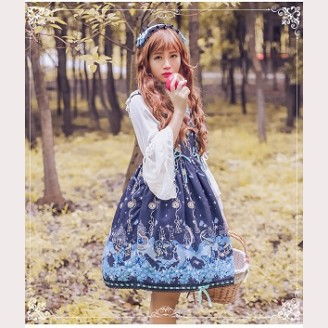 Alice's notes lolita dress JSK