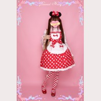 Diamond Honey Polka dots lolita dress