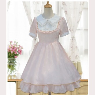 Stars Chiffon Lolita Dress OP