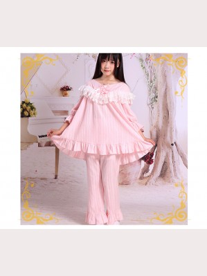 Lolita Cotton & Lace Pajamas Set